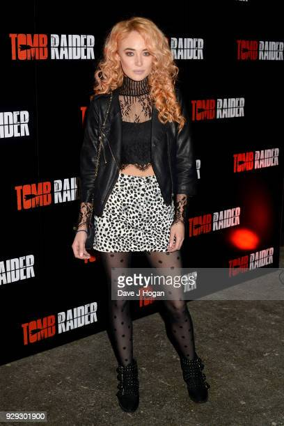 Nicola Hughes attends Tomb Raider Escape at Spitalfields on March 8 2018 in London England
