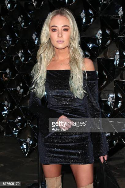 Nicola Hughes seen attending Lipsy London VIP winter dinner held at Rosewood London on November 22 2017 in London England
