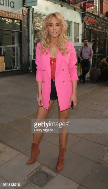 Nicola Hughes seen attending Tell Your Friends restaurant launch party on May 3 2018 in London England