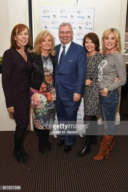 Nicola Ibison, Sally Meen, Eamonn Holmes, Jo Sheldon and Anthea Turner attend Turn The Tables 2018 hosted by Tania Bryer and James Landale in aid of...