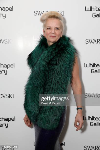 Nicola Kerr attend a glamorous gala dinner at Whitechapel Gallery as Rachel Whiteread is celebrated as the recipient of the Whitechapel Gallery Art...