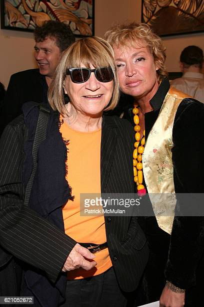 Nicola L and AnneLaure Lyon attend JANE GANG 'Cash Only' jewelry launch hosted by Josh Briggs at May 20 on May 20 2008