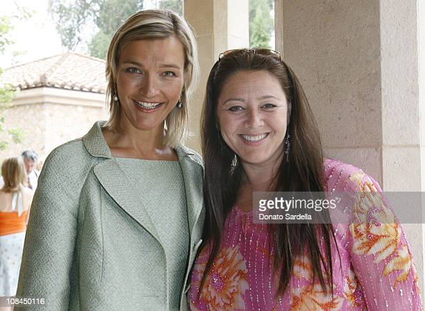 NIcola Maramotti and Camryn Manhein during MaxMara and the C.H.I.P.S Host A Luncheon Benefitting The Children's Institute Incorporated at Century...