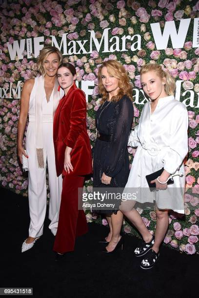 Nicola Maramotti Zoey Deutch Lea Thompson and Madelyn Deutch attend the Max Mara Celebrates Zoey Deutch As The 2017 Women In Film Max Mara Face Of...