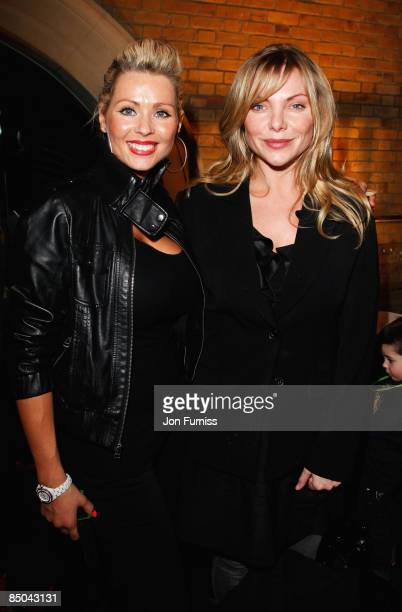 Nicola McLean and Samantha Janus attend the UK Premiere of 'Ben 10 Alien Force' at Old Billingsgate Market on February 15 2009 in London England