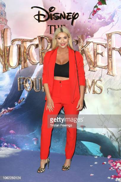 Nicola McLean attends the European Premiere of Disney's 'The Nutcracker' at Vue Westfield on November 01 2018 in London England