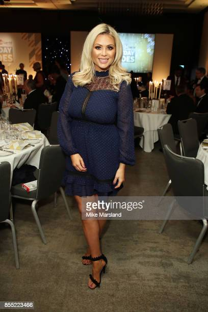 Nicola McLean attends the St John Ambulance's Everyday Heroes Awards a star studded celebration of the nation's life savers at Hilton Bankside on...