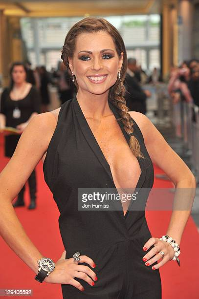 Nicola McLean attends the UK premiere of 'Larry Crowne' at Vue Westfield on June 6 2011 in London England
