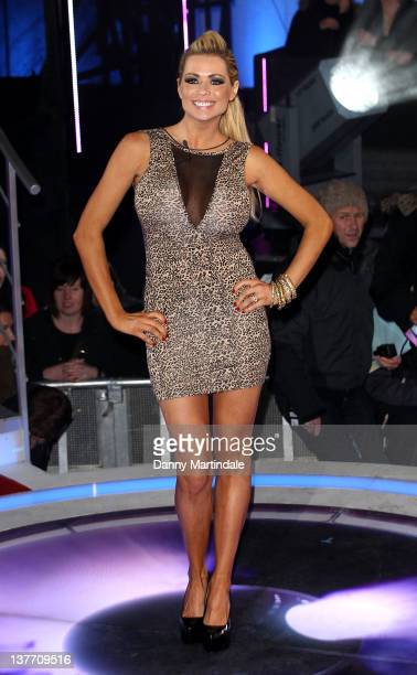Nicola McLean is the sixth person to get evicted from the Celebrity Big Brother house at Elstree Studios on January 25 2012 in Borehamwood England