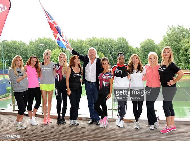 Nicola McLean Michelle Heaton Nell McAndrew Amy Guy Kay Burley Sir Richard Branson Chelsee Healey Angelica Bell Zoe Hardman Lydia Bright and Hayley...