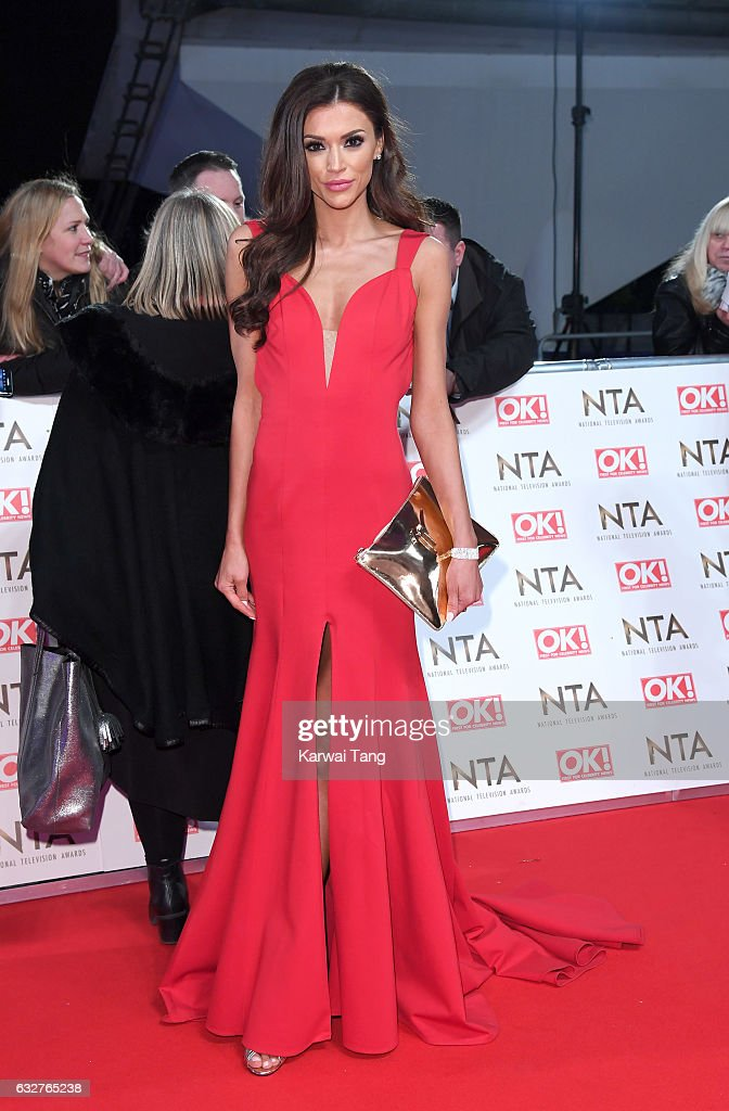 Nicola Mimnagh attends the National Television Awards at The O2 Arena on January 25, 2017 in London, England.
