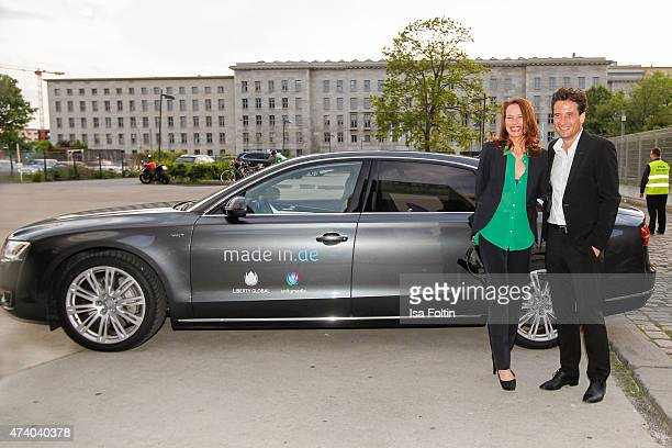Nicola Mommsen and Oliver Mommsen attend made inde Award 2015 on May 19 2015 in Berlin Germany