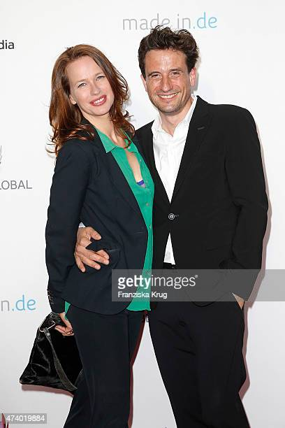 Nicola Mommsen and Oliver Mommsen attend the made inde Award 2015 on May 19 2015 in Berlin Germany