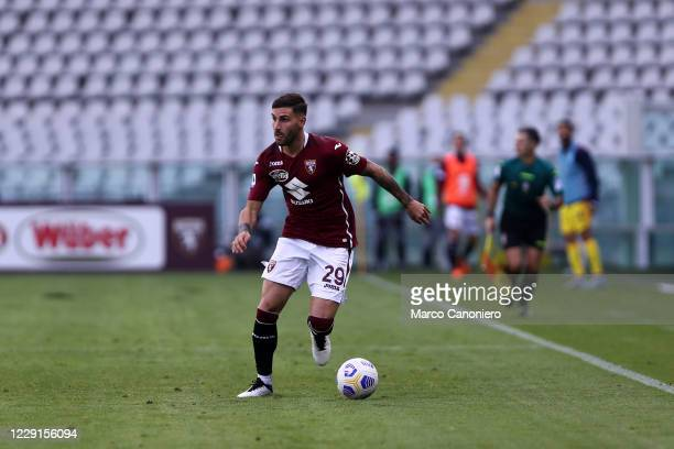 Nicola Murru of Torino FC in action during the Serie A match between Torino Fc and Cagliari Calcio Cagliari Calcio wins 32 over Torino Fc