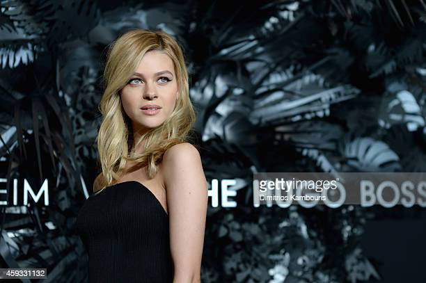 Nicola Peltz attends the Hugo Boss Prize 2014 at Guggenheim Museum on November 20 2014 in New York City