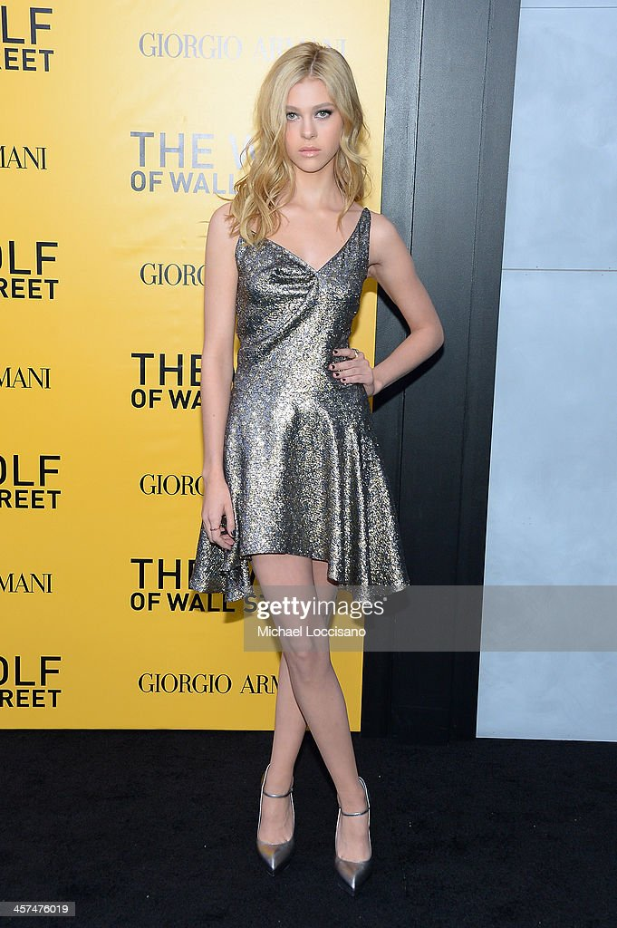 Nicola Peltz attends the 'The Wolf Of Wall Street' premiere at the Ziegfeld Theatre on December 17, 2013 in New York City.