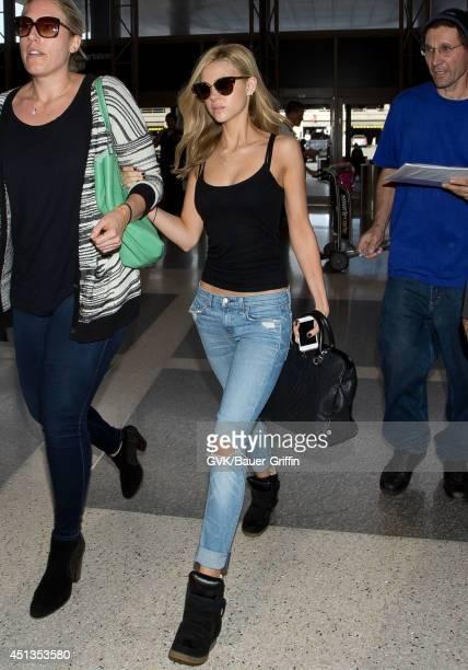 Nicola Peltz seen at LAX on June 27 2014 in Los Angeles California