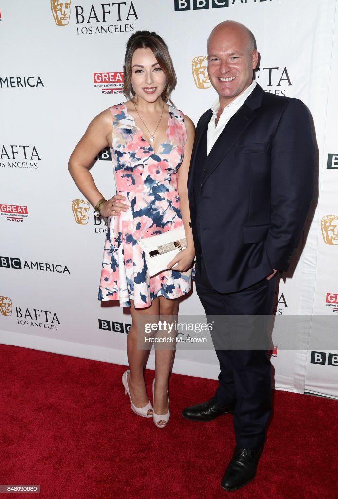 Nicola Posener and Jason Haigh-Ellery attend the BBC America BAFTA Los Angeles TV Tea Party 2017 at The Beverly Hilton Hotel on September 16, 2017 in Beverly Hills, California.