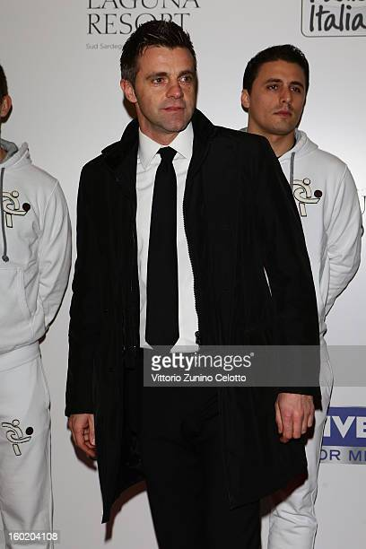 Nicola Rizzoli attends the Gran Gala del Calcio Aic football awards ceremony at Teatro dal Verme on January 27 2013 in Milan Italy