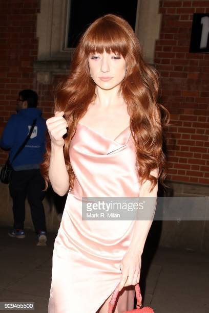 Nicola Roberts attending the Bardou Foundation International Women's Day celebration at the Hospital Club on March 8 2018 in London England
