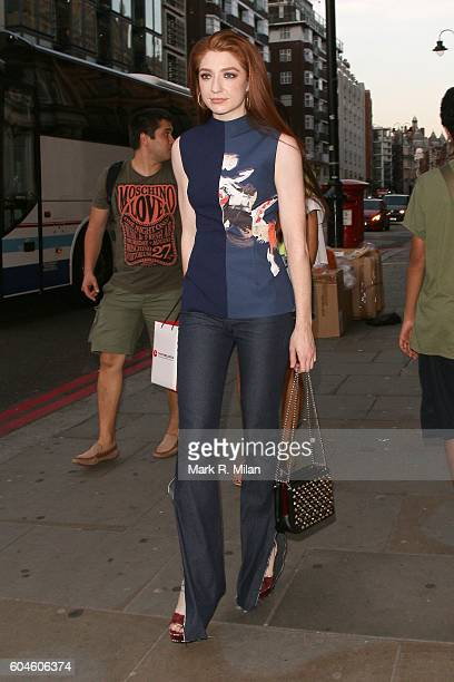 Nicola Roberts attending the GAP Jeans for Genes event on September 13 2016 in London England