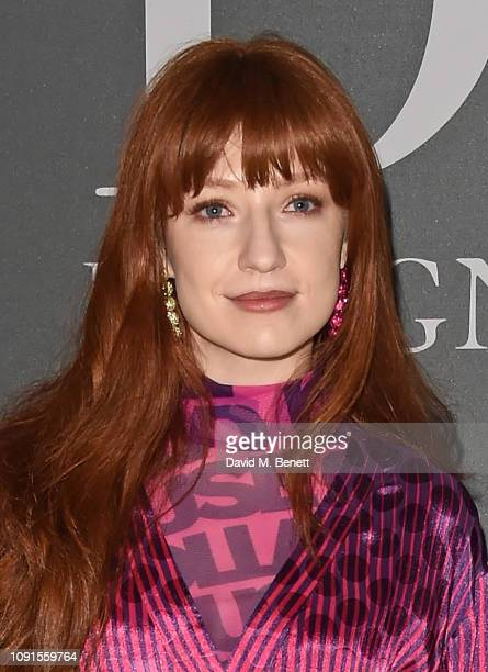 Nicola Roberts attends a private view of the 'Christian Dior Designer of Dreams' exhibition at The VA on January 30 2019 in London England