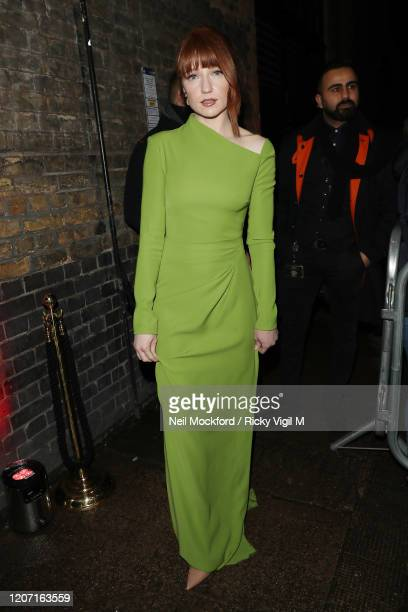 Nicola Roberts attends a Warner Records BRIT Awards 2020 after party at Chiltern Firehouse on February 18 2020 in London England