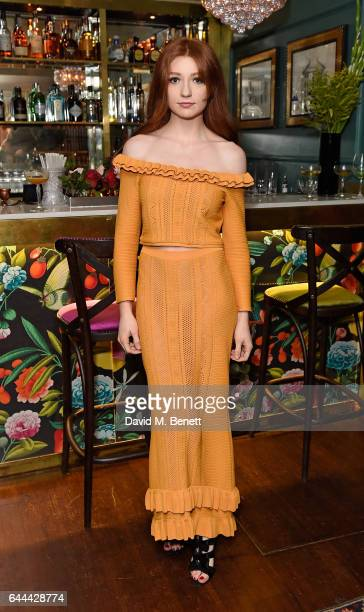 Nicola Roberts attends Alice McCall Fall 2017 Collection Launch Vip Dinner at Albert's on February 23 2017 in London England