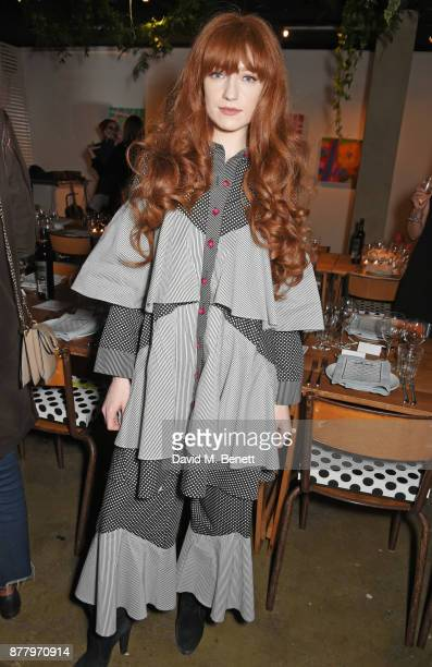 Nicola Roberts attends an intimate dinner hosted by Henry Holland and Andrew Nugent to celebrate the House of Holland Resort 18 collection and Bird...
