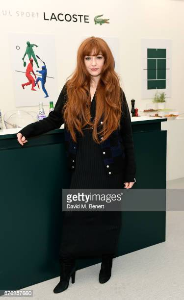 Nicola Roberts attends Lacoste VIP Lounge at the 2017 ATP World Tour Tennis Finals on November 19 2017 in London United Kingdom