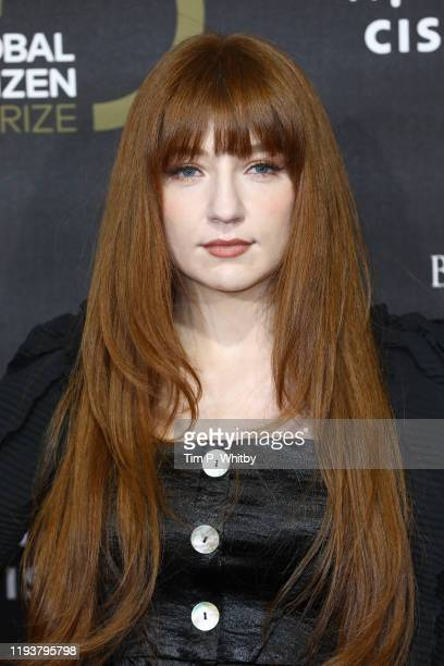 Nicola Roberts attends the 2019 Global Citizen Prize at the Royal Albert Hall on December 13 2019 in London England