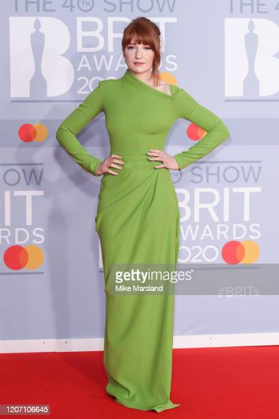 Nicola Roberts attends The BRIT Awards 2020 at The O2 Arena on February 18, 2020 in London, England.