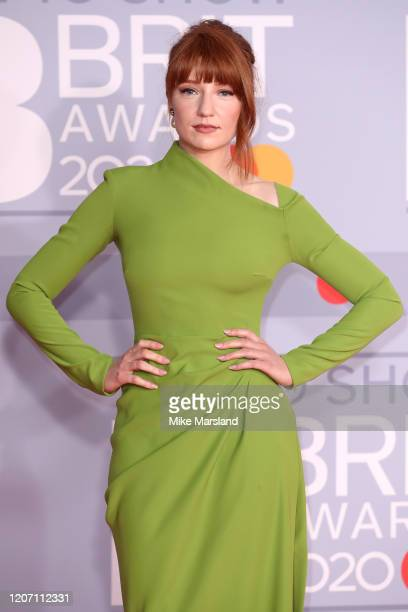 Nicola Roberts attends The BRIT Awards 2020 at The O2 Arena on February 18 2020 in London England