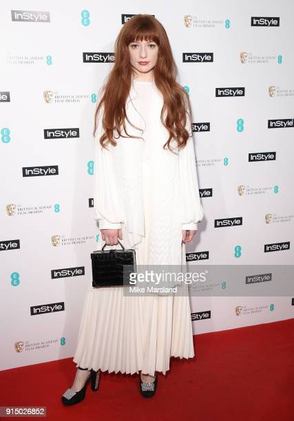Nicola Roberts attends the EE InStyle Party held at Granary Square Brasserie on February 6 2018 in London England