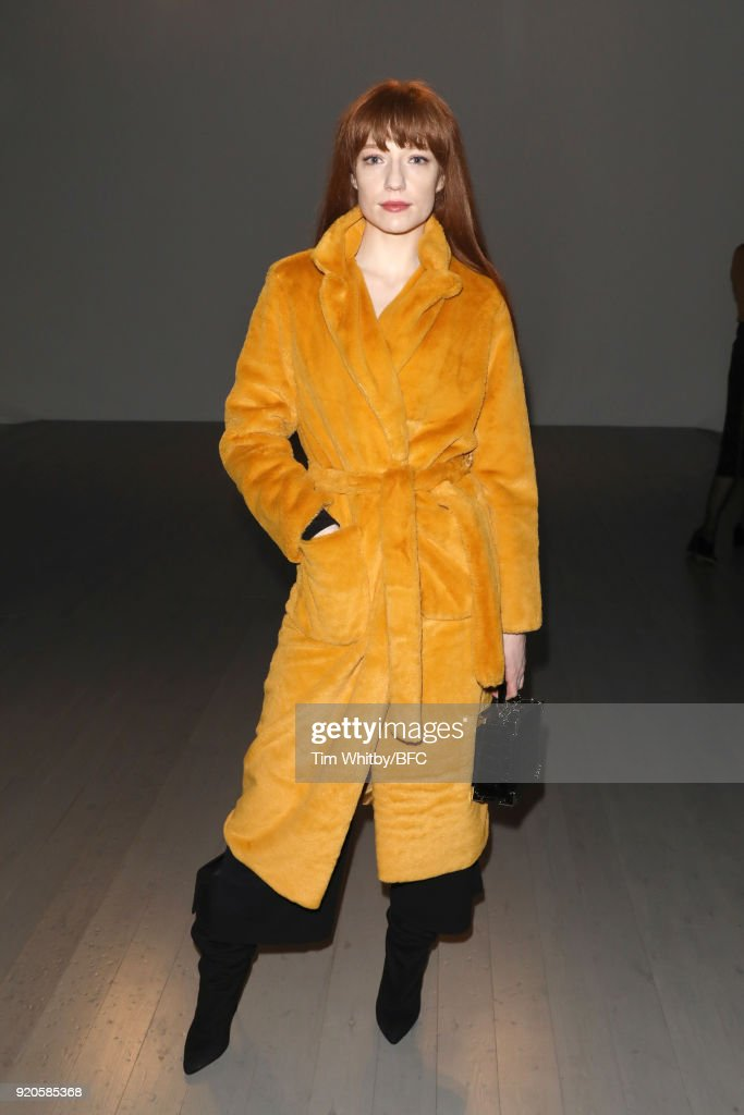 Faustine Steinmetz - Front Row - LFW February 2018