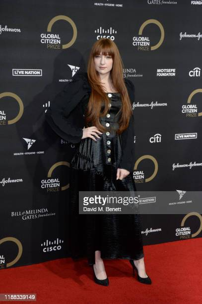 Nicola Roberts attends the Global Citizen Prize at Royal Albert Hall on December 13 2019 in London England