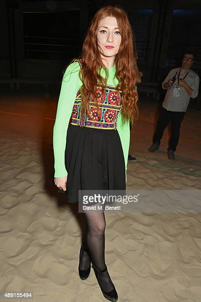 Nicola Roberts attends the House Of Holland show during London Fashion Week SS16 at Collins Music Hall on September 19 2015 in London England