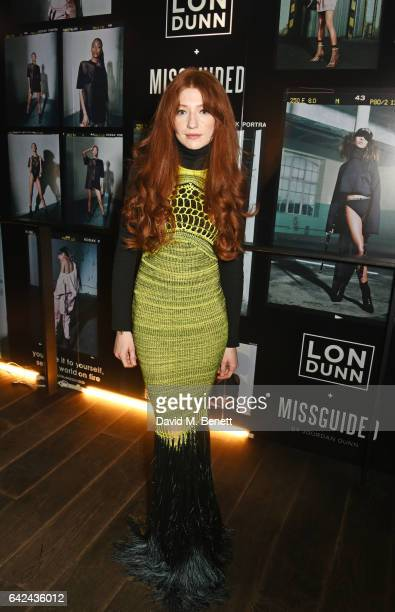 Nicola Roberts attends the Lon Dunn Missguided launch event hosted by Jourdan Dunn at The London EDITION on February 17 2017 in London England