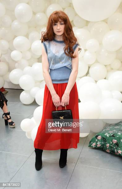 Nicola Roberts attends the Markus Lupfer SS18 presentation during London Fashion Week September 2017 on September 16 2017 in London United Kingdom