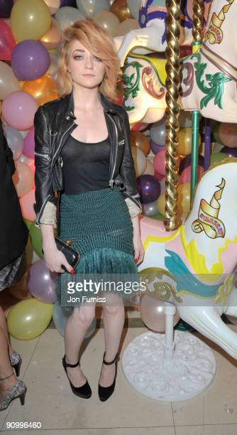 Nicola Roberts attends the Mulberry party during London Fashion Week Spring/summer 2010 at Claridge's Hotel on September 20 2009 in London England