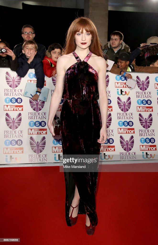 Nicola Roberts attends the Pride Of Britain Awards at Grosvenor House, on October 30, 2017 in London, England.