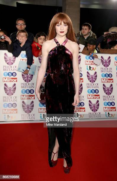 Nicola Roberts attends the Pride Of Britain Awards at Grosvenor House on October 30 2017 in London England