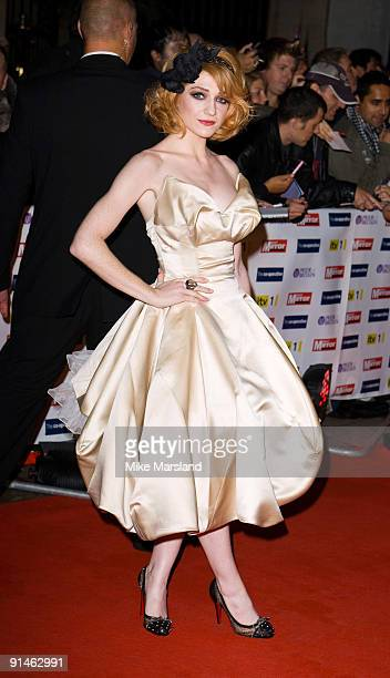Nicola Roberts attends the Pride Of Britain Awards at the Grosvenor House on October 5 2009 in London England