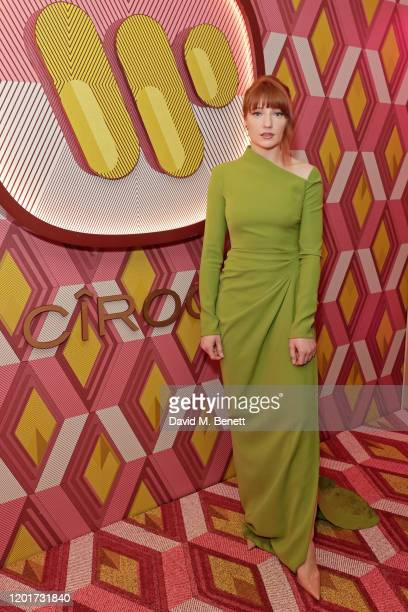 Nicola Roberts attends the Warner Music CIROC BRIT Awards house party in association with GQ at The Chiltern Firehouse on February 18 2020 in London...