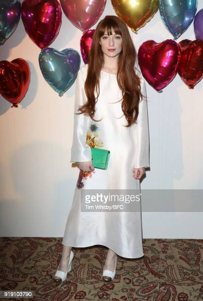 Nicola Roberts attends the Wonderland Magazine x MTV Party during London Fashion Week February 2018 at The Ned Hotel on February 16 2018 in London...