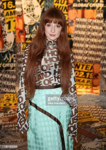 Nicola Roberts during London Fashion Week February 2019 on February 16 2019 in London England