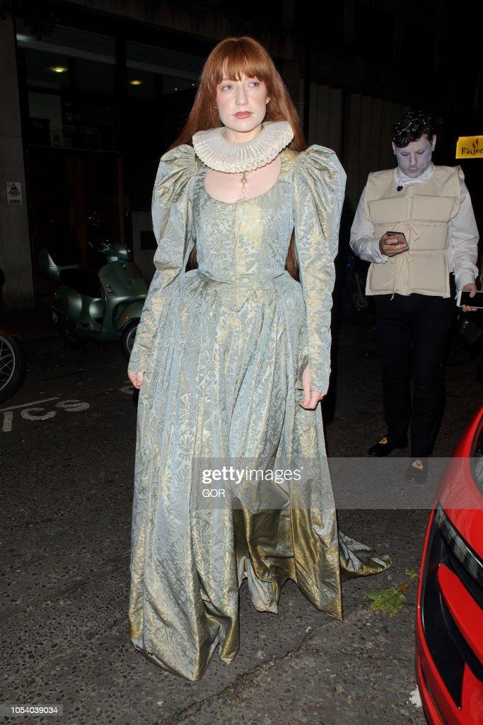 London Celebrity Sightings -  October 26, 2018 : News Photo
