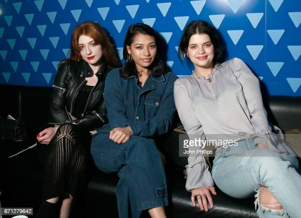 Nicola Roberts Vanessa White and Pixie Geldof attend the launch night of the new partnership between blu evaping pioneers and Ministry of Sound at...