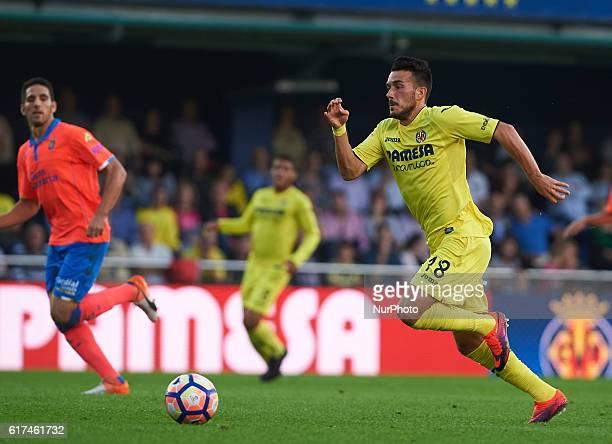 Nicola Sansone of Villarreal CF during the La Liga match between Villarreal vs UD Las Palmas Vilareal on october 23 2016