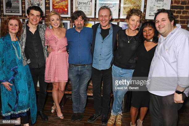 Nicola Sloane Edward Bluemel Helen George director Sir Trevor Nunn Anthony Head Eve Best Vivienne Rochester and Menier Chocolate Factory Artistic...